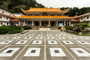 Temple at Taroko Gorge